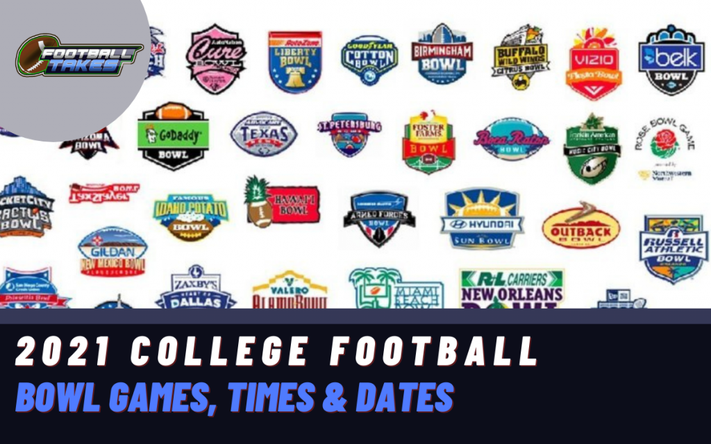 2021 College Football Bowl Games Times Dates