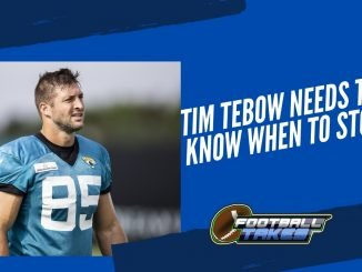 Tim Tebow Needs to Know When to Stop