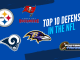 Top 10 Defenses in the NFL Heading into the 2021 Season