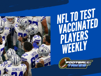 NFL Proposes to Test Vaccinated Players Weekly Instead of Bi-Weekly