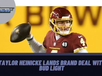 Taylor Heinicke Lands Brand Deal with Bud Light