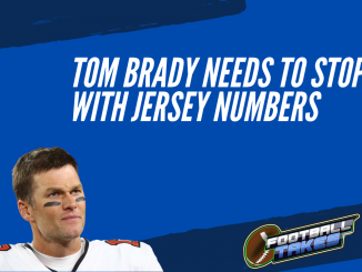 Tom Brady Needs to Stop with Jersey Numbers