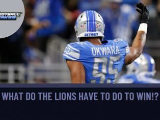 What Do the Lions Have to Do to Win!?