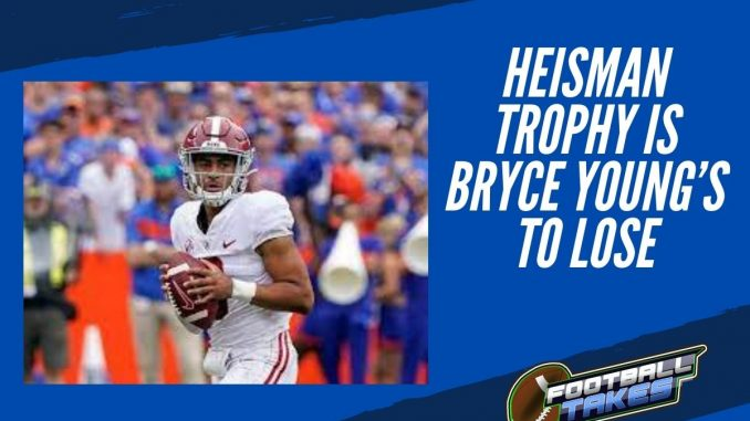 Heisman Trophy is Bryce Young's to Lose