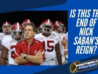 Is this the End of Nick Saban's reign