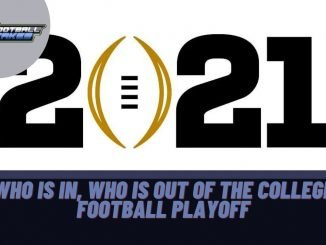 Who is In, Who is Out of the College Football Playoff